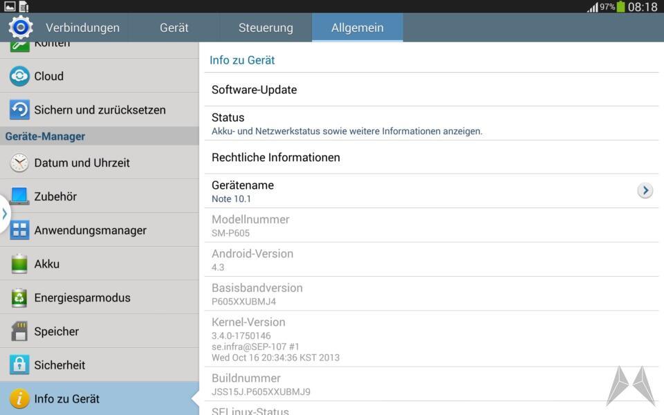Samsung Galaxy Note 10.1 2014 Edition Screenshot (9)