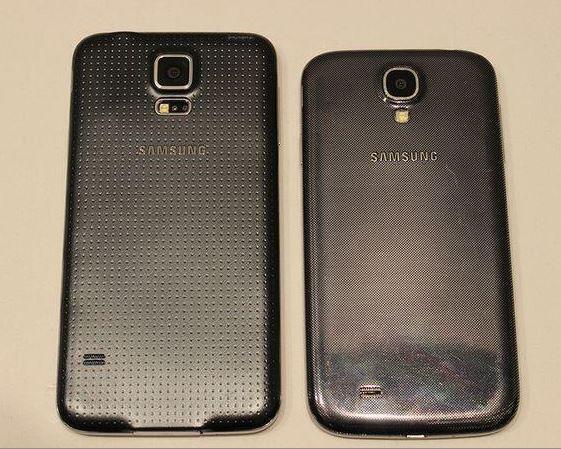 Samsung Galaxy S5 S4 Vergleich
