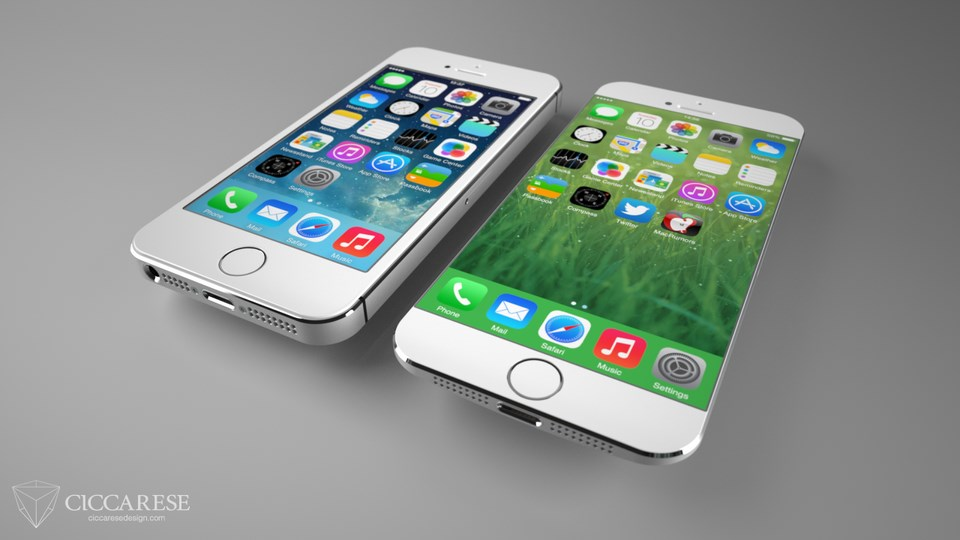 iPhone 6 Konzept 5s 1