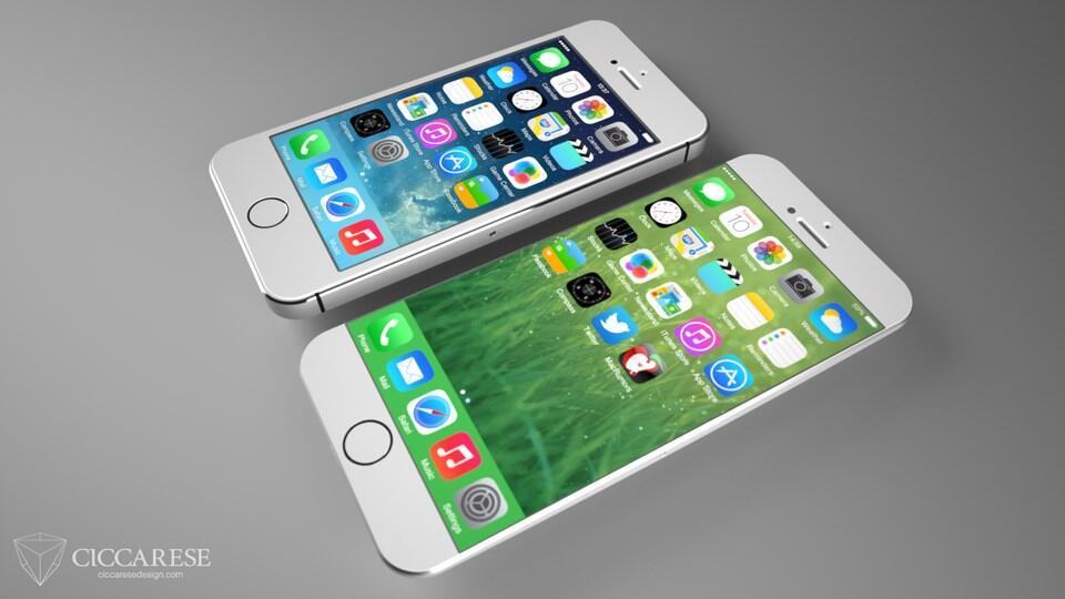 iPhone 6 Konzept 5s 2