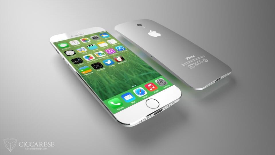iPhone 6 Konzept Front