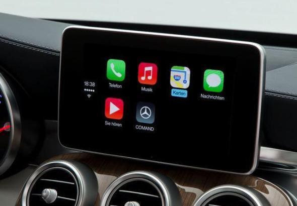 Apple CarPlay Mercedes Benz