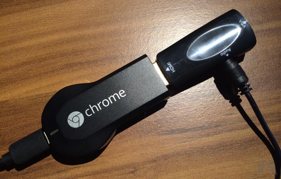 Chromecast audio adapter (1)
