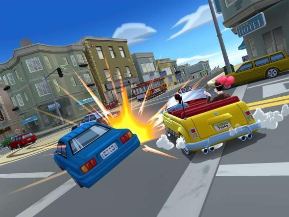 Crazy Taxi City Rush Screenshot (2)