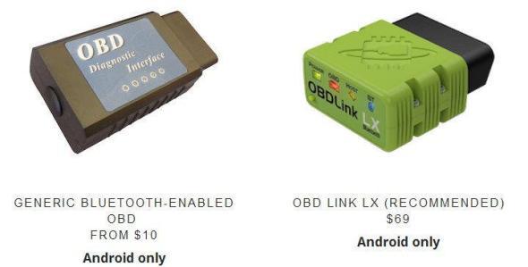 Dash OBD-Geräte