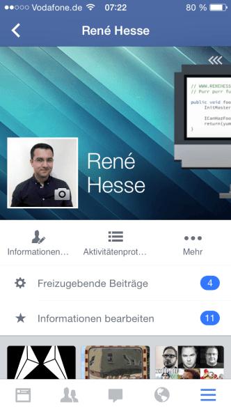 Facebook Profil design (2)
