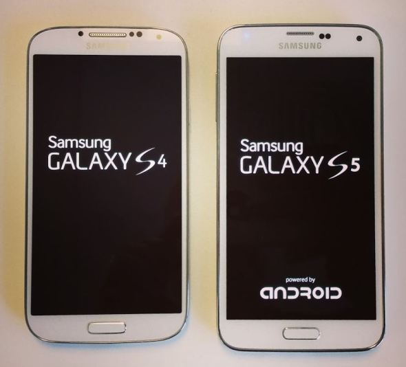 Galaxy S4 Galaxy S5 Vergleich