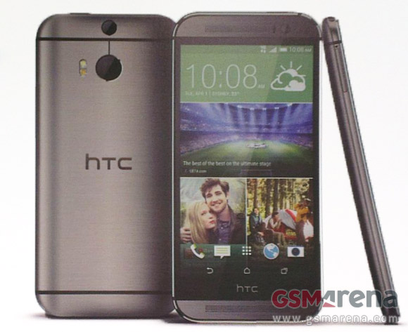 HTC One 2014 Prospekt Header