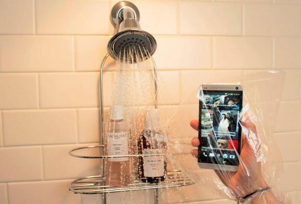HTC One Dusche