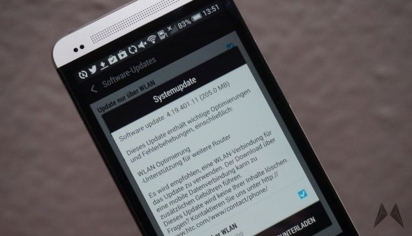 HTC One Update Firmware