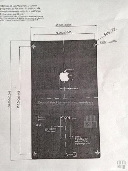 iPhone 6 Maße