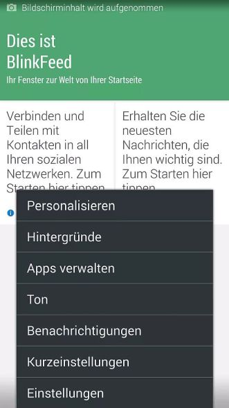 BlinkFeed Samsung Galaxy S5