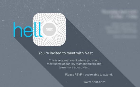 Google Nest Nike FuelBand Einladung