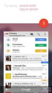 Google Now Gmail