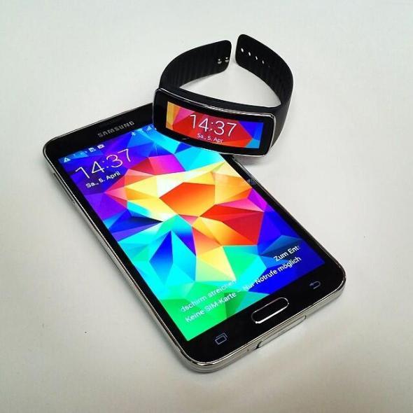 Samsung Galaxy S5 Gear Fit