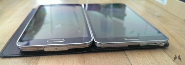 Samsung Galaxy S5 vs. Note 3