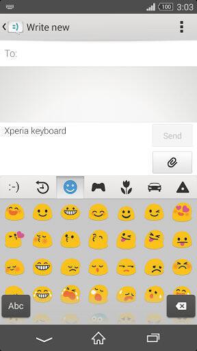 Sony Xperia Tastatur 02