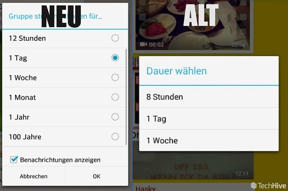 WhatsApp Android Beta Gruppenbenachrichtigungen