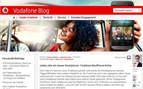 vodafone blog header