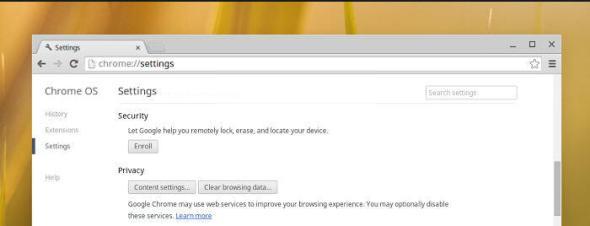 Chromebook Remote Management