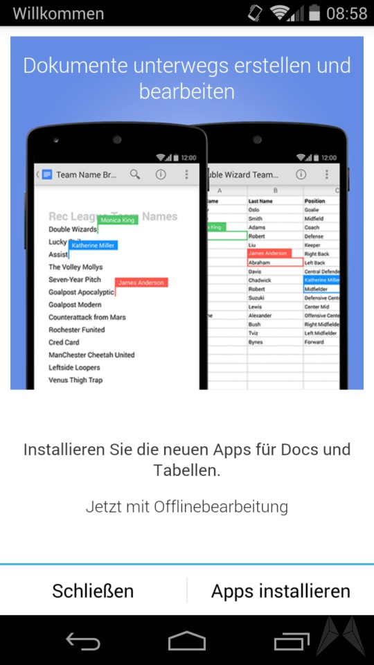 Google Drive 1.3 Android (1)