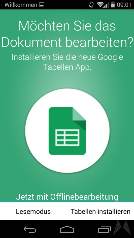 Google Drive 1.3 Android (2)