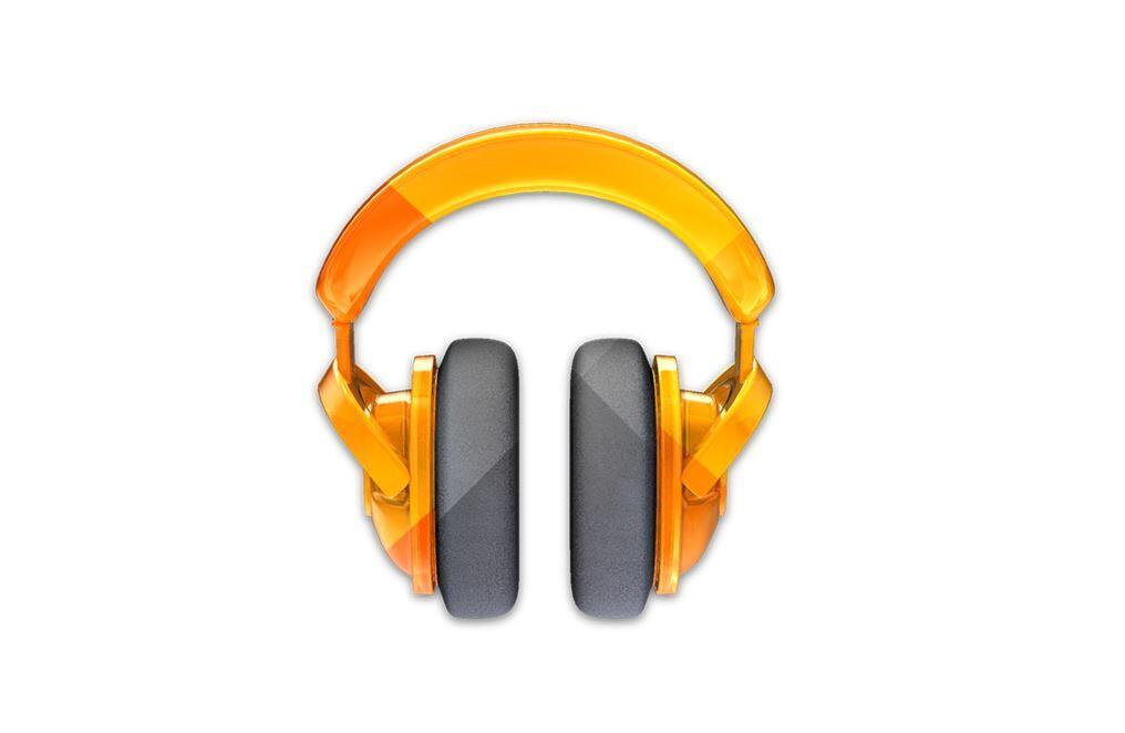 Google Play Music Logo Header