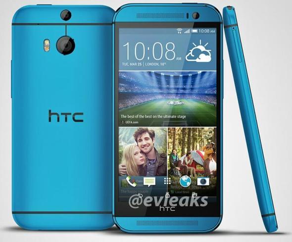HTC One (M8) blau 1