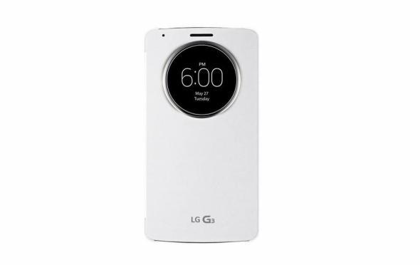 LG G3 Quick Circle Case Header