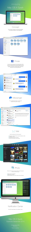 Mac OS X Syrah - Concept