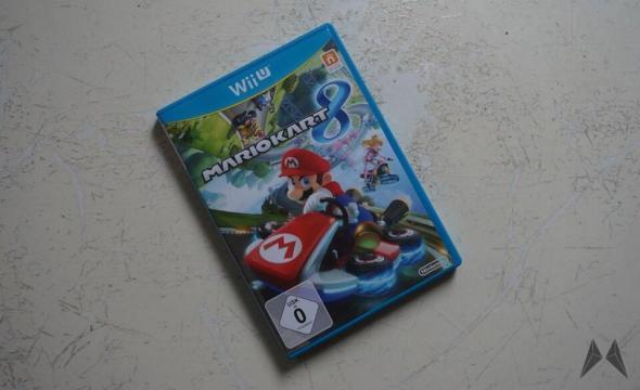 Mario Kart 8 Header