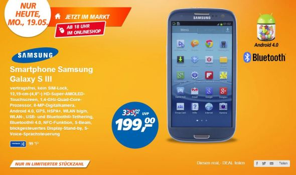 Samsung Galaxy S3 Real