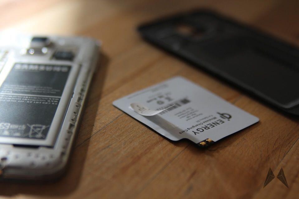 Samsung Galaxy S5 QI Receiver Zubehör IMG_9100