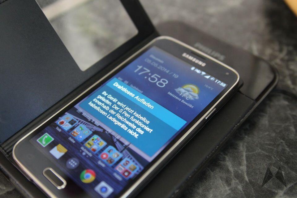 Samsung Galaxy S5 QI Receiver Zubehör IMG_9112