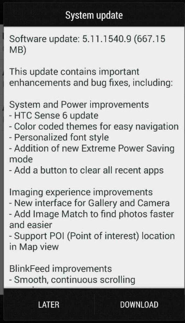 Sense 6.0 HTC One M7