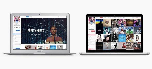 iTunes 12 Konzept Mitte