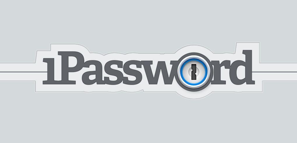 1Password Logo Header