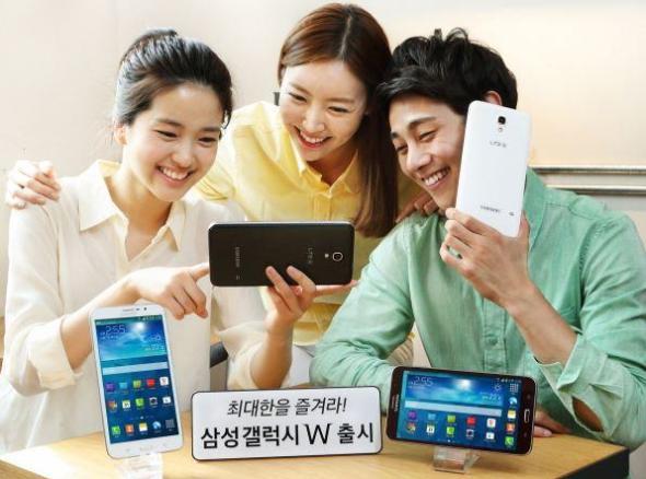 Samsung Galaxy W Familie
