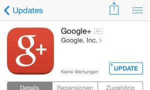 google plus ios