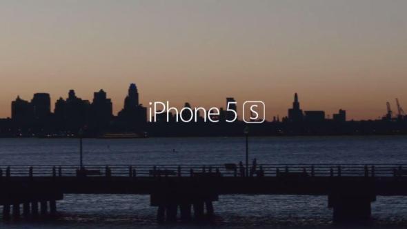 iPhone 5s Werbung Header