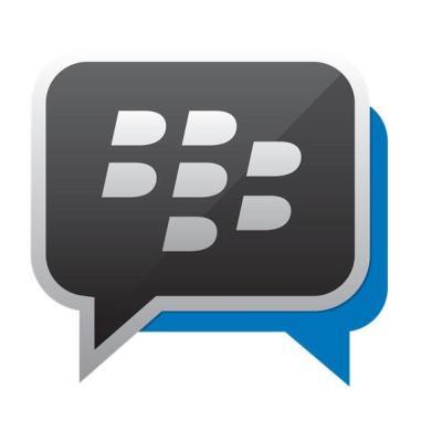 BlackBerry Messenger BBM Logo Header