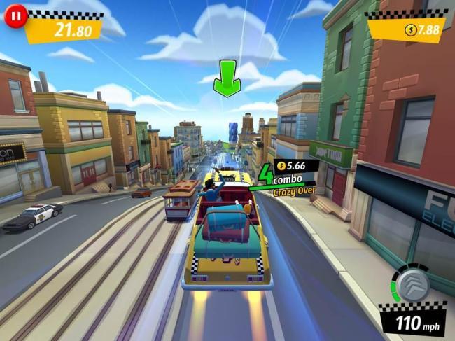 Crazy Taxi City Rush Screenshot