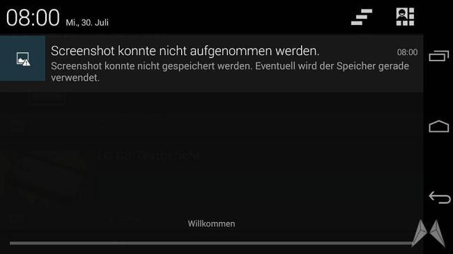 DRM Screenshot AOSP