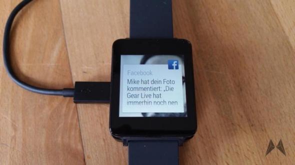 Facebook G Watch