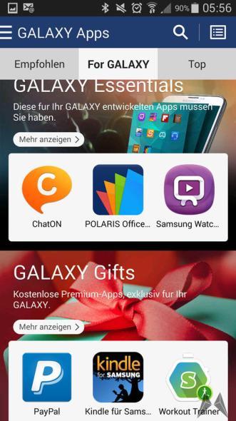 Galaxy Apps2