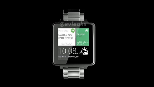 HTC Smartwatch Android Wear Header