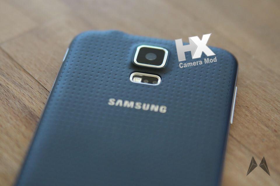 Samsung Galaxy S5 Kamera von HyperX aufgebohrt