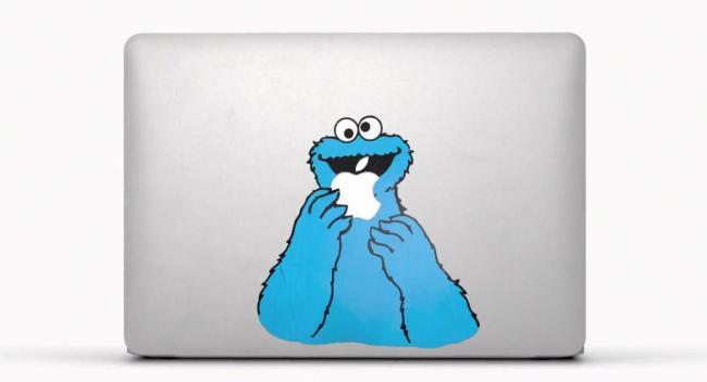 MacBook Air Elmo Sticker
