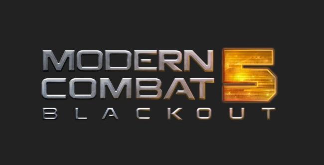 Modern Combat 5 Blackout Header