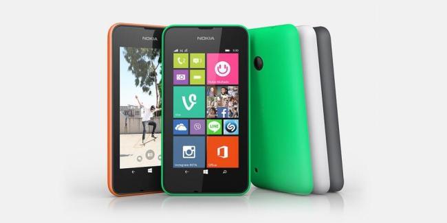 Nokia Lumia 530 Header